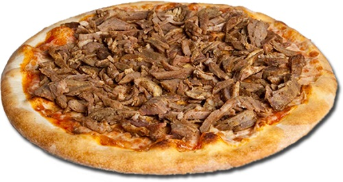 Pizza bbq shoarma