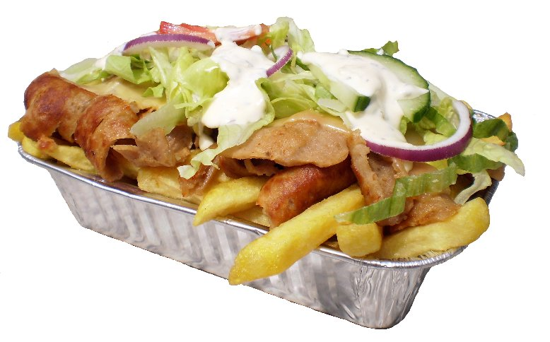 Kapsalon friet kip
